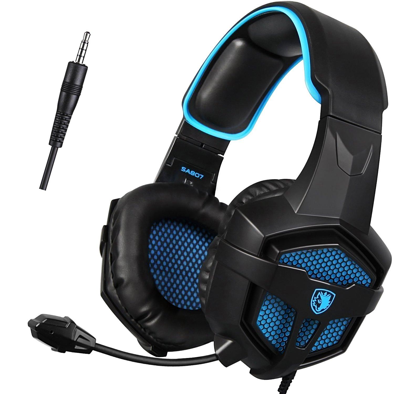SADES SA-807 best gaming headphones of 2019 for gamers
