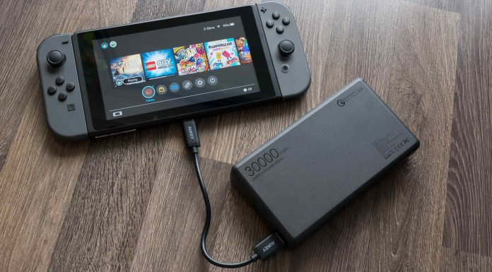 latest nintendo switch battery test