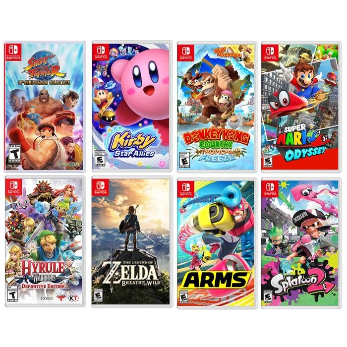 latest nintendo switch games and performance
