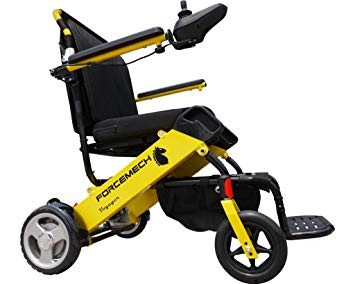 Folding self-propelling Electric mobility wheelchair