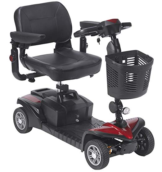 smallest four wheel mobility scooter