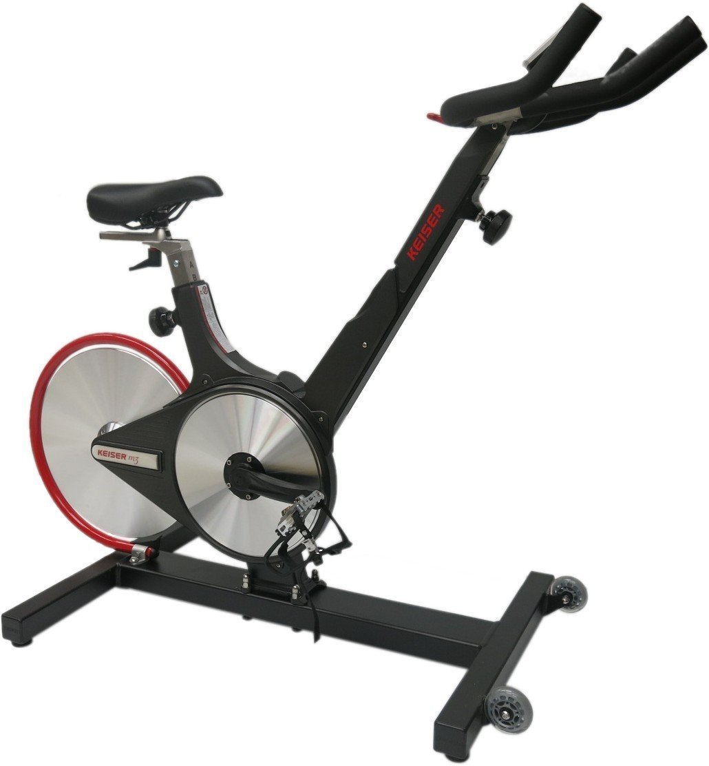 best indoor robust smoth running keiser spin bike