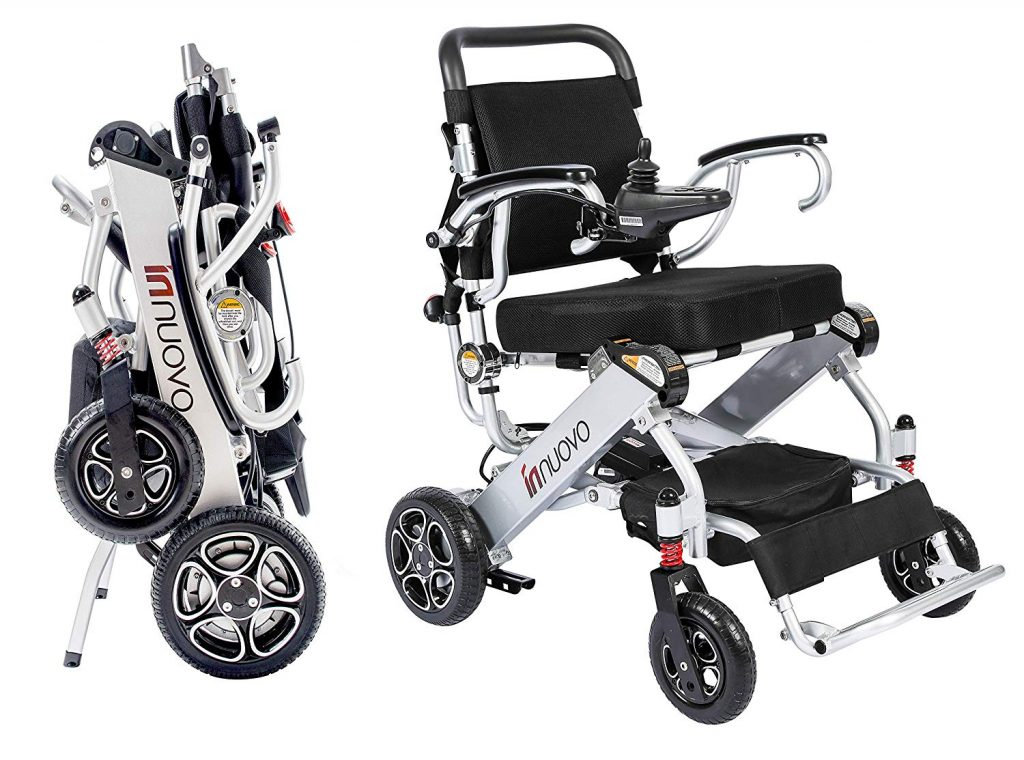 intelligent and most compact easily foldable wheelchair