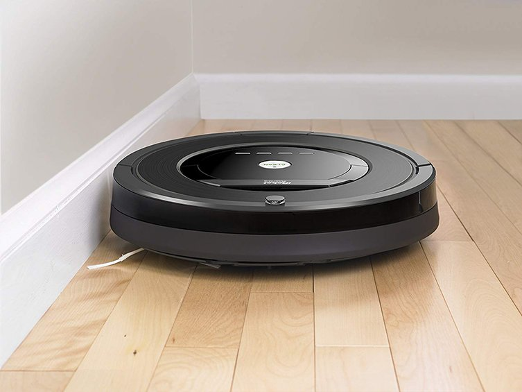 Roomba 880 hardwood floor