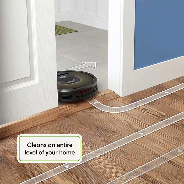 direction of roomba 980
