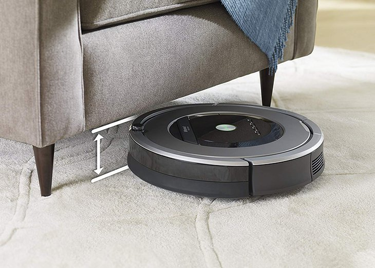 height of roomba 860