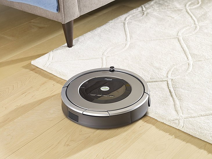 roomba 860 on floors