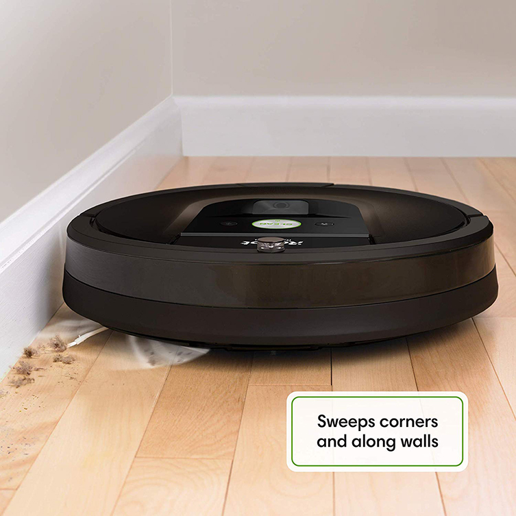 roomba 980 against wall