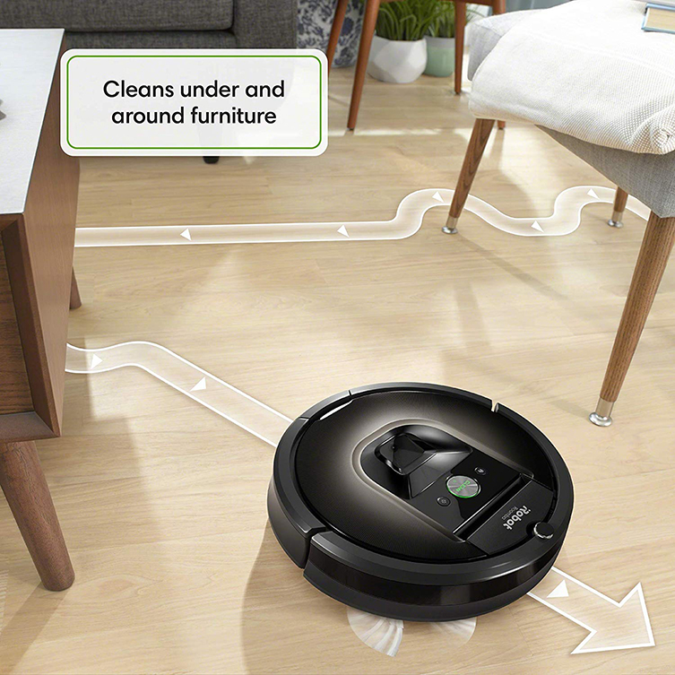 roomba 980 cleaning under furniture