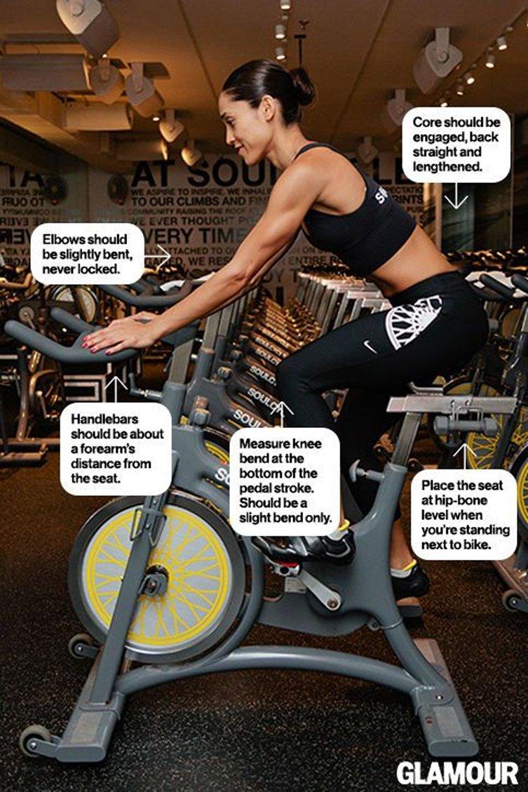 Adjust Indoor Spin Bikes