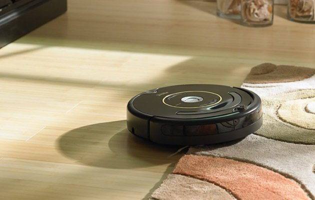 roomba 650 on carpet and hardwood floor