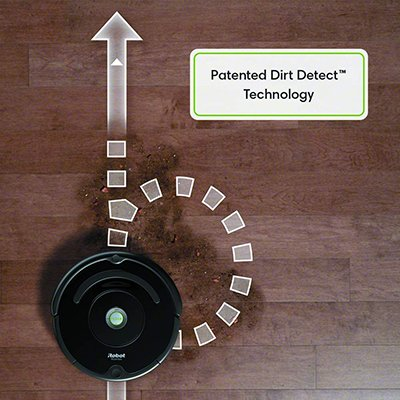 roomba 675 dirt detect