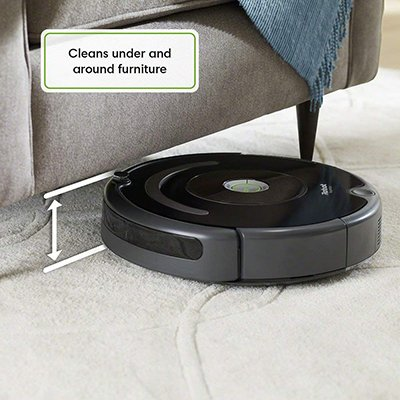 roomba 675 under furniture