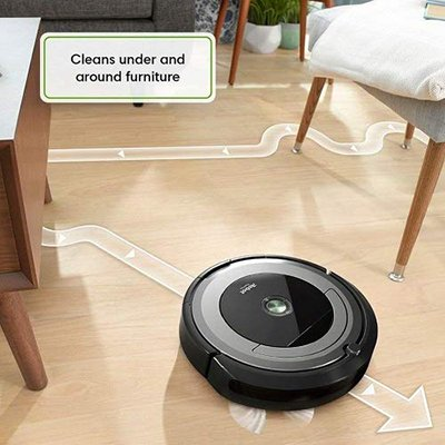 roomba 690 under furniture