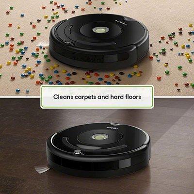 Roomba 614 carpet + hard wood